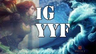ig yyf morphling and windrunner gameplay dota 2