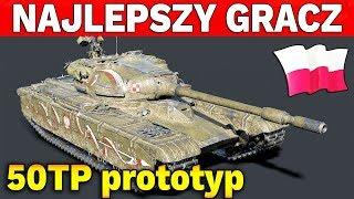 NAJLEPSZY GRACZ na Polskim Czołgu - World of Tanks