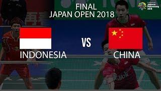 Download Video Jadwal Pertandingan Final Japan Open 2018 Marcus/Kevin vs Li/Liu MP3 3GP MP4