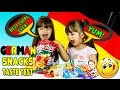 AMERICAN KIDS TRY GERMAN CANDY & SNACKS - Treats Taste Test