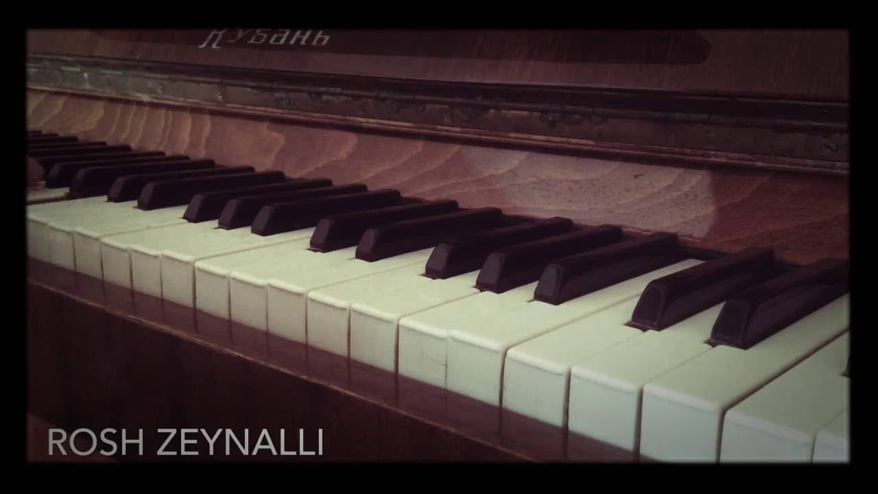 Omuzumda Aglayan Bir Sen Piano Cover Youtube