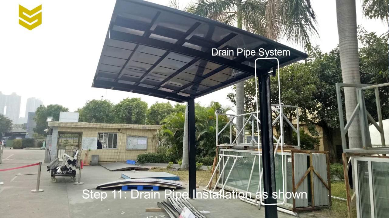 How To Install An Aluminum Carport?   Sunshield Shelter