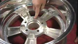 V8TV 65 Chevelle: Vintage Wheel Works Wheels and BFG g-Force Tires Video