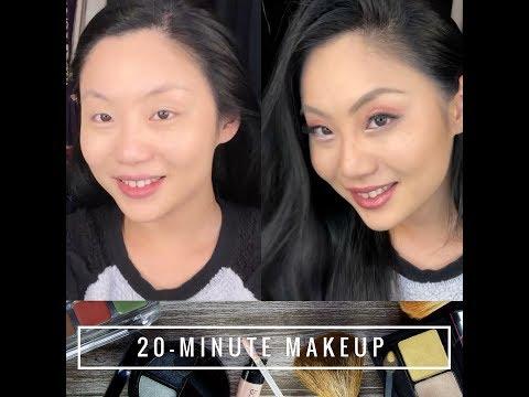 Tina Guo: 60-Second Super-Speedy Makeup 💄
