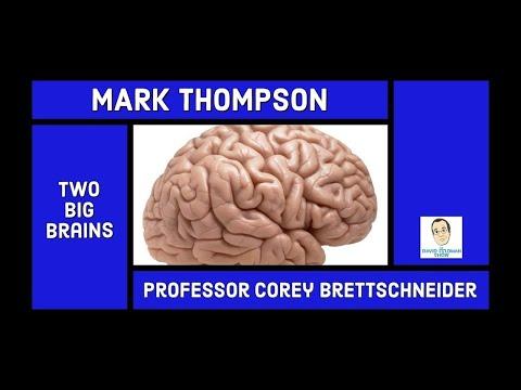 Mark Thompson & Professor Corey Brettschneider