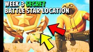 Fortnite Season 9 Week 3 Secret Battle Star Location & Loading Screen