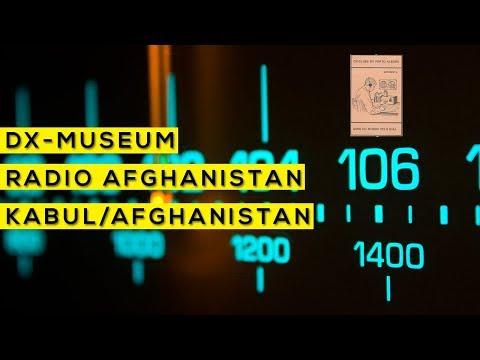 Sons do mundo pelo dial - Radio Afghanistan