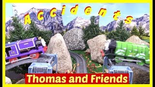 New Thomas and Friends Accidents will Happen Compilation | Toy Trains Thomas the Tank