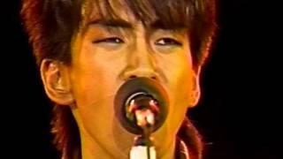 1985年ONE NIGHT THEATER~横浜スタジアムライヴより.