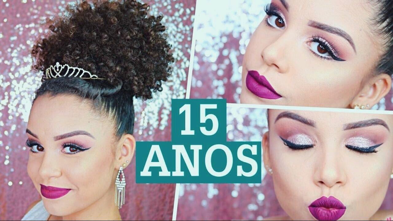 03 Penteados Make Para Debutantes Por Ana Lídia Lopes