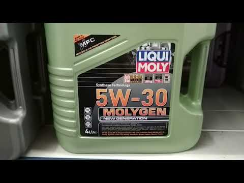 Покупка масла LIQUI MOLY Molygen New Generation 5W30 для Hyundai Creta.