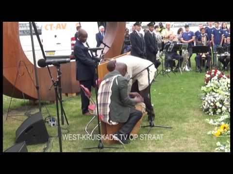 154e Keti Koti herdenking slavenmonument Rotterdam WK TV en Keo media en ST TV R dam r 30 06 17