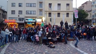 African rhythms  at Monastiraki sq.,  Athens, Greece