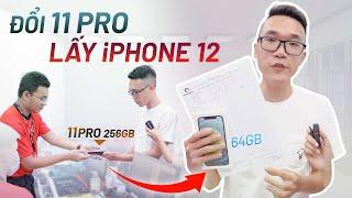 Đem iPhone 11 Pro đổi ngang lấy iPhone 12: chỉ được 64GB