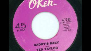 TED TAYLOR - Daddy