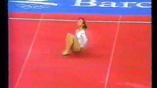 1992 Olympics - Gymnastics Compulsories.. Part 2 - a different perspective.....