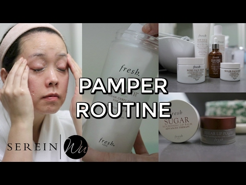 AT HOME SPA NIGHT | PAMPER ROUTINE