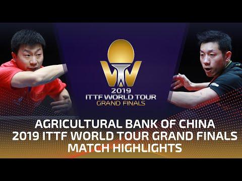 Ma Long Vs Xu Xin | 2019 ITTF World Tour Grand Finals Highlights (1/2)