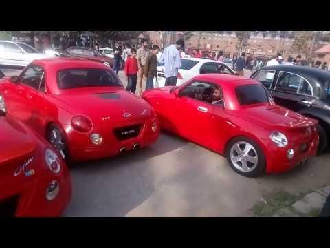 Daihatsu Copen Group At Auto Festival