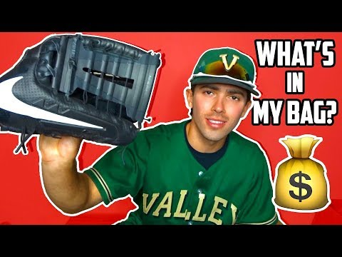 WHAT'S IN MY BASEBALL BAG 2019