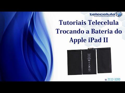 Como Desmontar E Trocar A Bateria Do Apple IPad 2 - TELECELULA