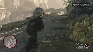 Sniper Elite 4 Gameplay Demo Trailer at E3 2016
