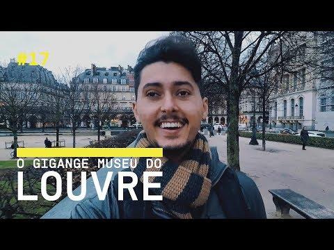 MUSEU DO LOUVRE (ALARME DE EVACUAÇÃO) E CHAMPS ELYSEES EM PARIS - VLOG 17