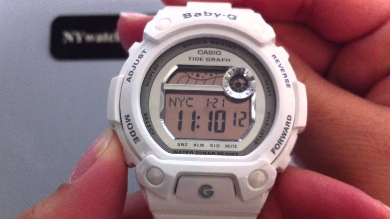 образом g shock baby g set time живем