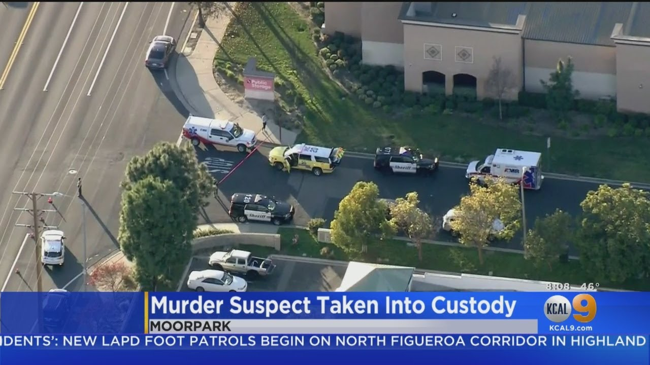 Man Found Shot To Death Inside U-Haul Truck At Moorpark Storage Facility, Suspect In Custody