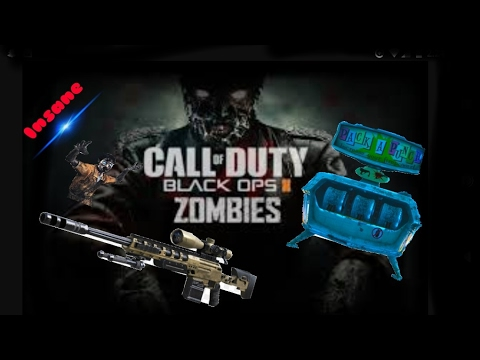 PACKAPUNCHED SNIPER VS ZOMBIES! TRICKSHOTS! - YouTube