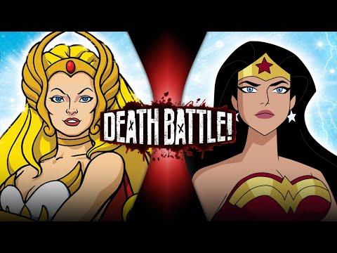 She-Ra VS Wonder Woman (He-Man VS DC)   DEATH BATTLE!