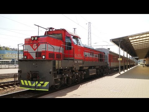 [LG] TEM TMH shunting locomotive | Vilnius Central Station , Lithuania