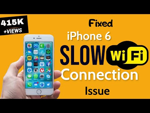iPhone 6 WiFi slow? Here's the way to speed up