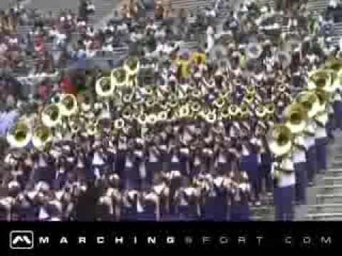 Miles College Marching Band (2007) Neck - HBCU Bands