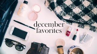December 2014 Favorites || Beauty, Style, Food & Oddities