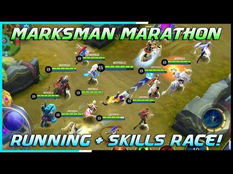 Marksman Running + Skills Race Tournament! | Mobile Legends Bang Bang | MLBB