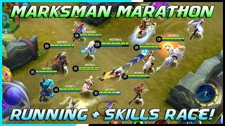 Marksman Running + Skills Race Tournament! | Mobile Legends Bang Bang | MLBB