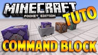 TUTO : COMMENT UTILISER LES COMMANDES BLOCS DANS MCPE 1.0.5 !