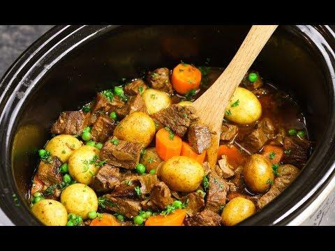 Slow Cooker Beef Stew {Easy Crock Pot}