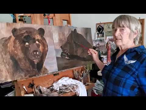 Painting Grizzly Bears – Part 1