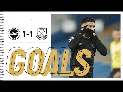 GOALS | BRIGHTON & HOVE ALBION 1-1 WEST HAM UNITED