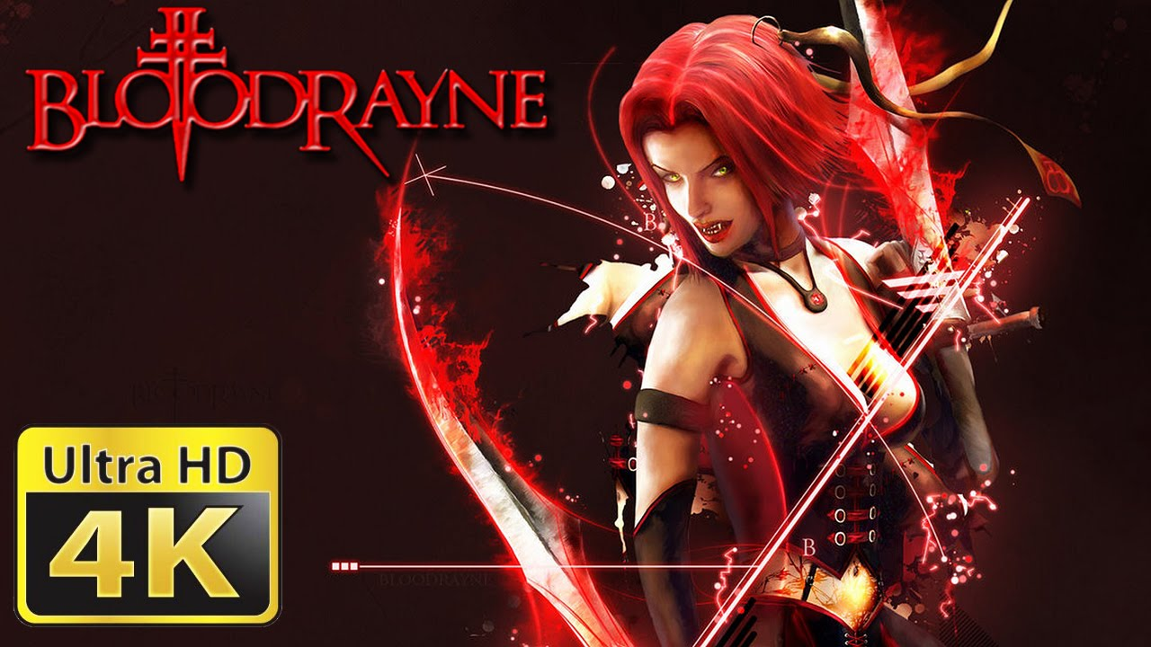Old Games In 4k Bloodrayne Youtube
