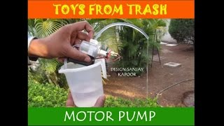 MOTOR PUMP | ENGLISH | Amazing Motor Pump!