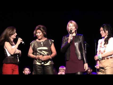 Tina Turner, Regula Curti & Dechen Shak-Dagsay - Children Beyond press conference & performance