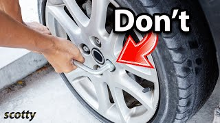 Here's How Stupid People Change Tires