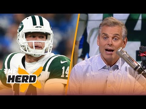 Colin Cowherd on Sam Darnold's MNF debut, Gruden's Week 1 loss | NFL | THE HERD