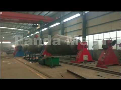 Panda Mech  Bulk Cement Flour Bulker Tanker Carrier Trailer Producing Line