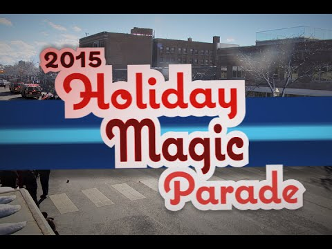 2015 Holiday Magic Parade, Royal Oak Michigan