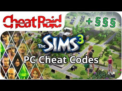 The Sims 3 Cheat Codes | PC