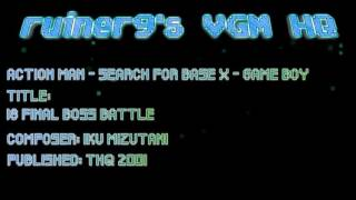 Action Man - Search for Base X Game Boy OST 18 Final Boss Battle